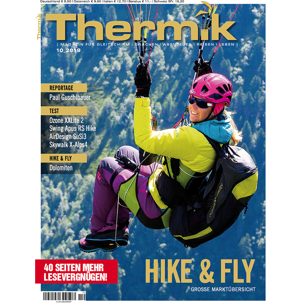 Thermik Magazin 10/2019 Hike&Fly